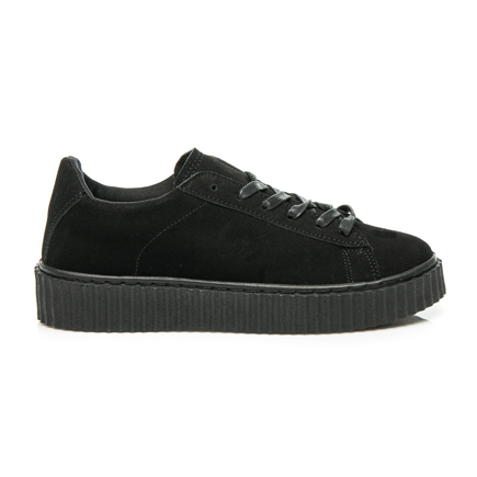 CREEPERSY BLACK SUEDE