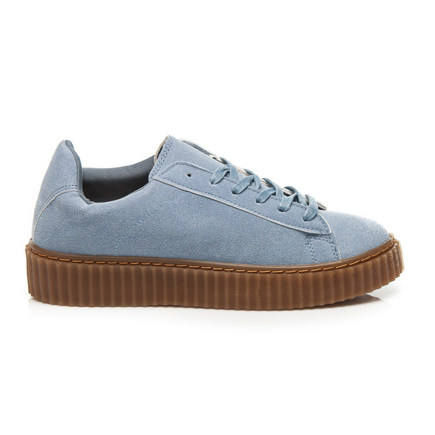 CREEPERSY BLUE SUEDE