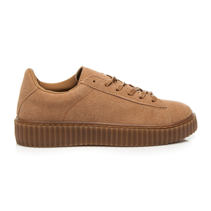 CREEPERSY CAMEL SUEDE