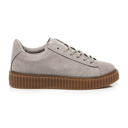 CREEPERSY GREY SUEDE