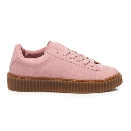 CREEPERSY PINK SUEDE