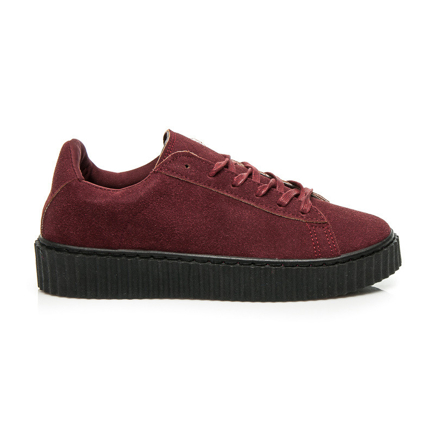 CREEPERSY WINE RED SUEDE