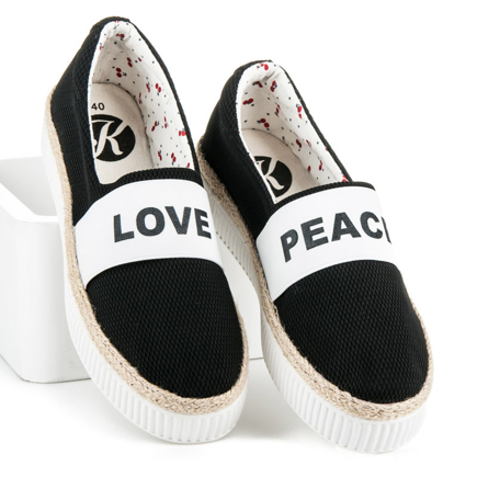 ESPADRYLE LOVE & PEACE