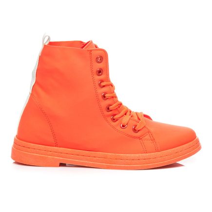 NEONOWE TRAMPKI HIGH TOP
