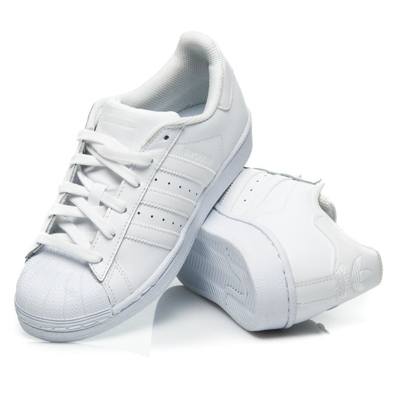 ADIDAS SUPERSTAR FOUNDATION TOTAL WHITE