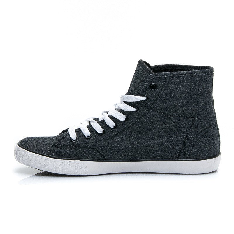 JEANSOWE TRAMPKI HIGH TOP