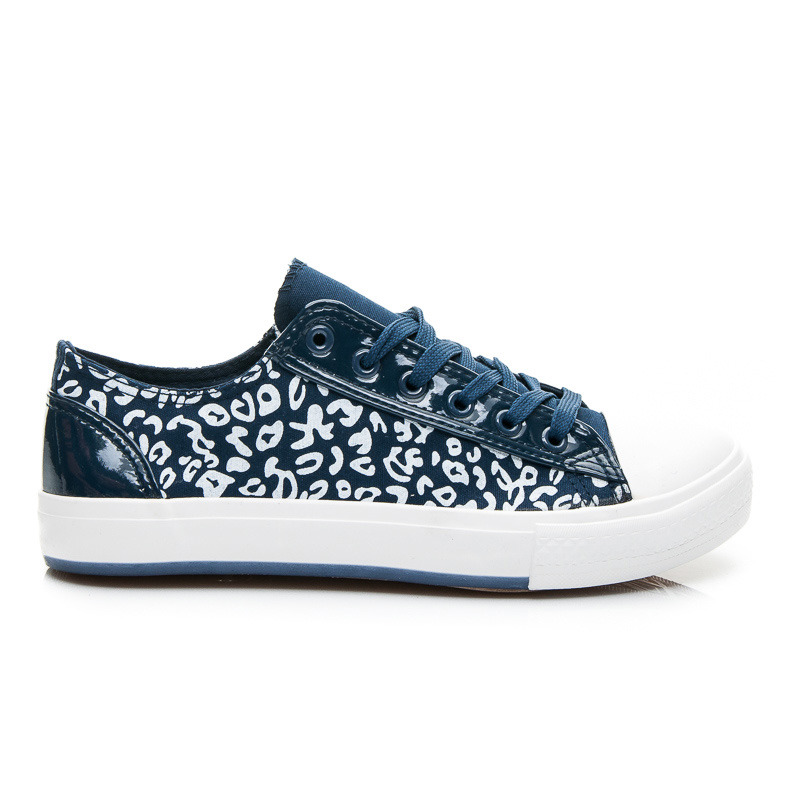 TRAMPKI DARK BLUE SPECKLES